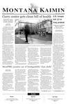 Montana Kaimin, April 30, 2003