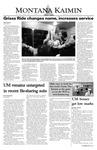 Montana Kaimin, September 5, 2003