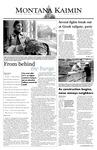 Montana Kaimin, September 11, 2003