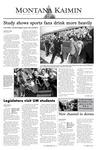 Montana Kaimin, September 12, 2003