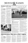 Montana Kaimin, September 17, 2003