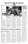 Montana Kaimin, September 18, 2003