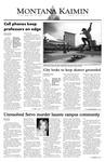 Montana Kaimin, September 19, 2003