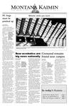 Montana Kaimin, September 23, 2003