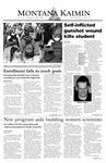Montana Kaimin, September 30, 2003