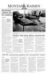 Montana Kaimin, October 15, 2003