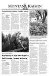 Montana Kaimin, October 21, 2003