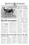Montana Kaimin, October 22, 2003