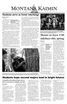 Montana Kaimin, October 28, 2003