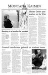 Montana Kaimin, October 29, 2003