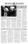 Montana Kaimin, November 18, 2003
