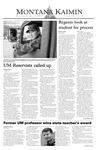 Montana Kaimin, November 19, 2003