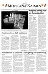 Montana Kaimin, November 21, 2003