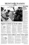 Montana Kaimin, December 2, 2003