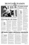 Montana Kaimin, December 4, 2003