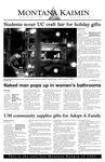 Montana Kaimin, December 5, 2003