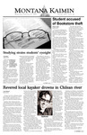 Montana Kaimin, February 11, 2004