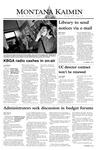 Montana Kaimin, February 12, 2004