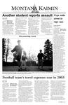 Montana Kaimin, March 12, 2004