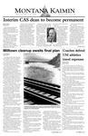 Montana Kaimin, March 24, 2004