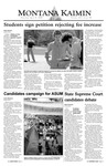 Montana Kaimin, April 8, 2004