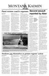 Montana Kaimin, April 21, 2004