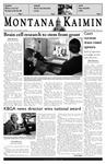 Montana Kaimin, October 5, 2005