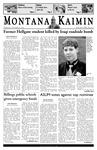 Montana Kaimin, October 6, 2005