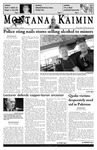Montana Kaimin, October 11, 2005