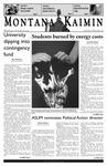 Montana Kaimin, October 19, 2005