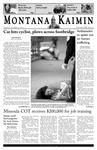 Montana Kaimin, October 25, 2005
