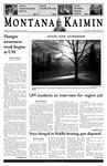Montana Kaimin, November 15, 2005