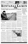 Montana Kaimin, November 16, 2005