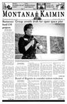 Montana Kaimin, January 25, 2006