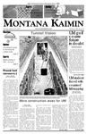 Montana Kaimin, January 23, 2007