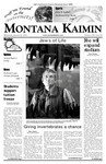 Montana Kaimin, January 24, 2007