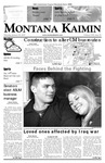 Montana Kaimin, January 25, 2007