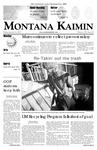 Montana Kaimin, January 26, 2007