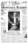 Montana Kaimin, January 30, 2007