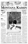 Montana Kaimin, January 31, 2007