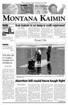 Montana Kaimin, February 8, 2007