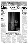 Montana Kaimin, February 13, 2007
