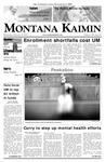 Montana Kaimin, February 28, 2007