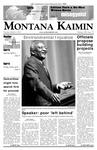 Montana Kaimin, March 6, 2007