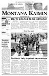 Montana Kaimin, March 8, 2007
