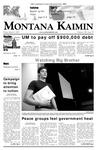 Montana Kaimin, March 9, 2007