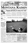 Montana Kaimin, March 14, 2007