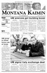 Montana Kaimin, March 15, 2007