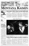 Montana Kaimin, March 16, 2007