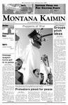 Montana Kaimin, March 20, 2007